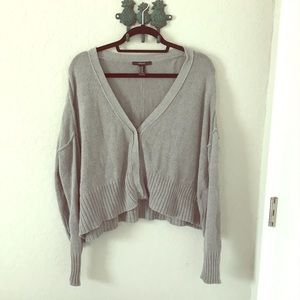 Grey cardigan/sweater